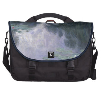 Water Lilies by Claude Monet. Bags For Laptop