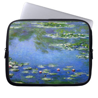 Water Lilies by Claude Monet Laptop Sleeves