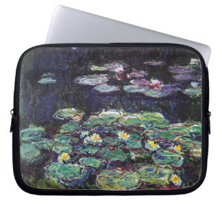 Water Lilies by Claude Monet Laptop Sleeve