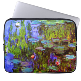Water Lilies by Claude Monet Computer Sleeves