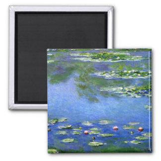 Water Lilies by Claude Monet Fridge Magnet