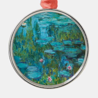 Water Lilies by Claude Monet Metal Ornament