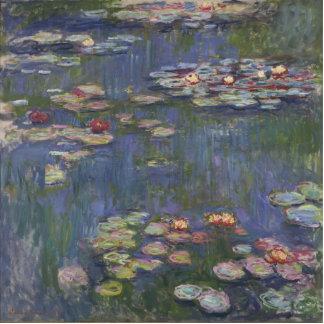 Water Lilies by Claude Monet Photo Cutout