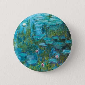 Water Lilies by Claude Monet Pinback Button