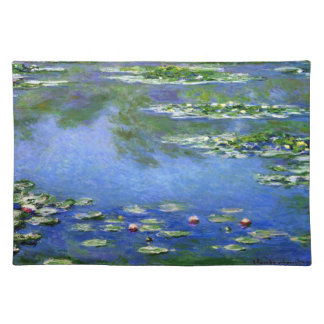 Water Lilies by Claude Monet Place Mat