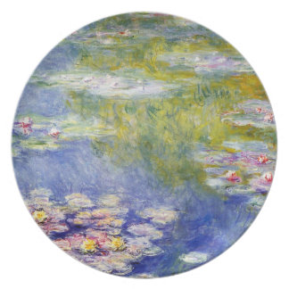 Water Lilies by Claude Monet Dinner Plate