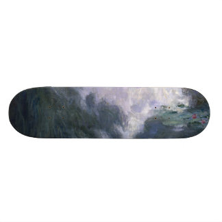 Water Lilies by Claude Monet. Skateboards