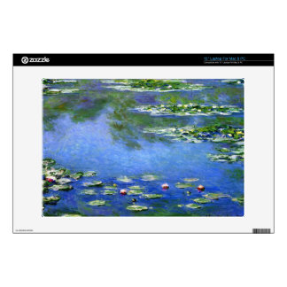 """Water Lilies by Claude Monet Skin For 13"""" Laptop"""