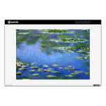 Water Lilies by Claude Monet Skin For Laptop