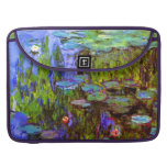 Water Lilies by Claude Monet Sleeve For MacBook Pro
