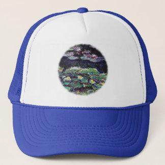 Water Lilies by Claude Monet Trucker Hat