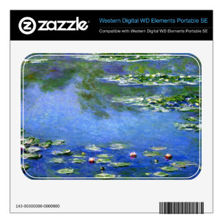 Water Lilies by Claude Monet WD Elements SE Skin