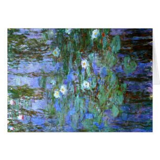 Water-Lilies by Monet Card