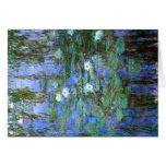 Water-Lilies by Monet Greeting Card
