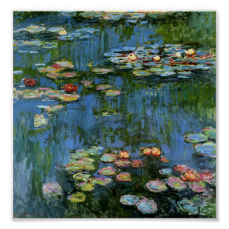 Water Lilies by Monet Print