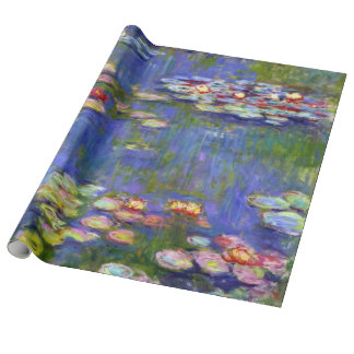 Water Lilies by Monet Wrapping Paper