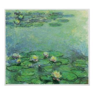 Water-Lilies, c. 1914–17; oil on canvas Print