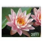 Water Lilies Calendar 2011