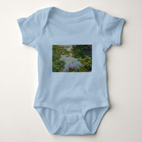 Water Lilies - Claude Monet Baby Bodysuit