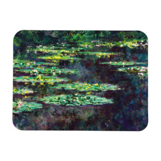 Water Lilies Claude Monet cool, old, master, maste Magnet