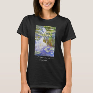 Water Lilies Claude Monet cool, old, master, maste T-Shirt