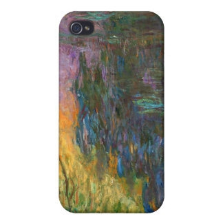 Water-Lilies - Claude Monet Cover For iPhone 4