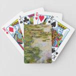 Water Lilies - Claude Monet Deck Of Cards