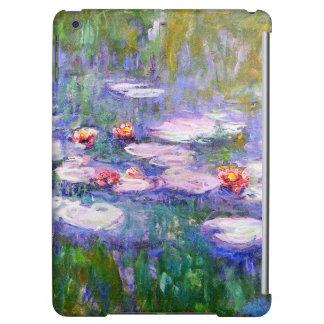 Water Lilies Claude Monet Fine Art iPad Air Cases