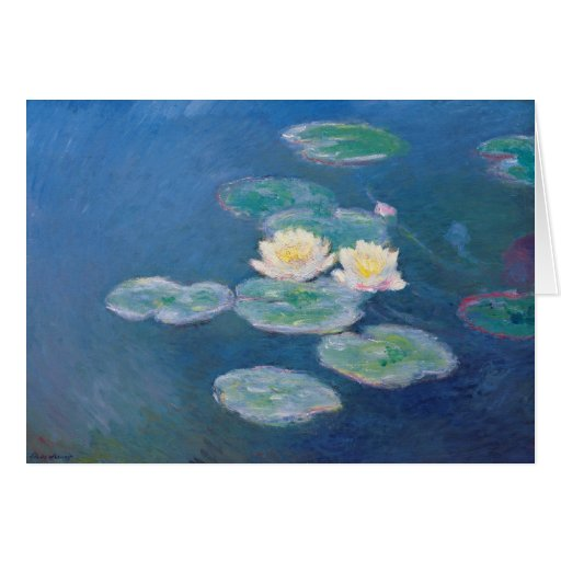 Water Lilies - Claude Monet Greeting Card