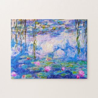 Water Lilies Claude Monet Jigsaw Puzzle