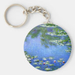 Water Lilies, Claude Monet Key Chains