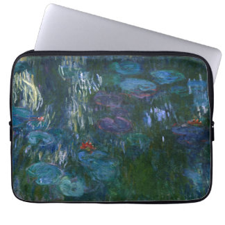 Water Lilies - Claude Monet Computer Sleeves