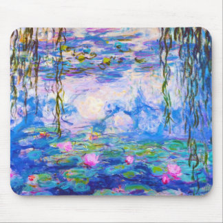 Water Lilies Claude Monet Mouse Pad