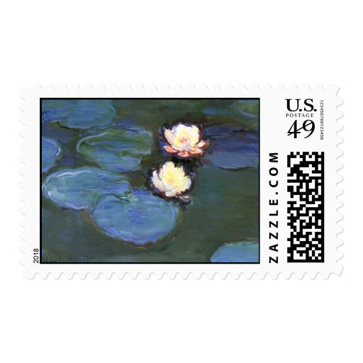 Water Lilies, Claude Monet Postage
