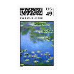 Water Lilies, Claude Monet Postage Stamp