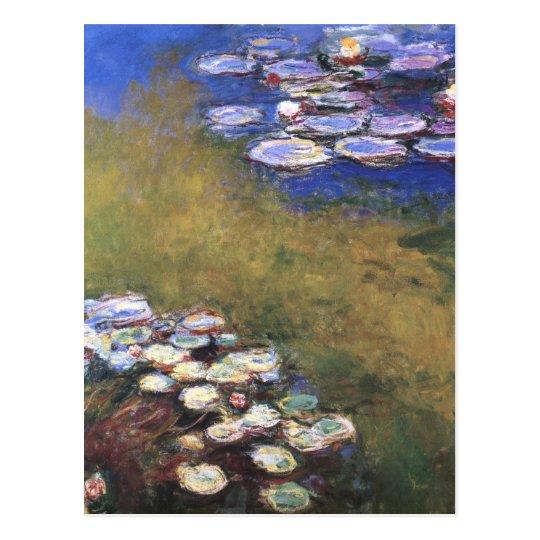 Water Lilies, Claude Monet Postcard