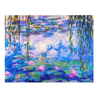 Water Lilies Claude Monet Postcard