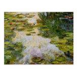 Water Lilies - Claude Monet Postcards