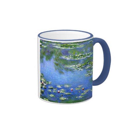 Water Lilies, Claude Monet Ringer Coffee Mug