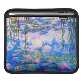 Water Lilies Claude Monet Sleeve For iPads