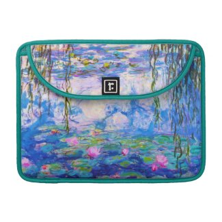 Water Lilies Claude Monet Sleeve For MacBook Pro