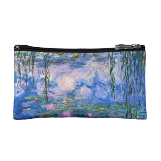 Water Lilies Cosmetic Bag