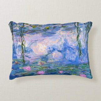 Water Lilies Decorative Pillow