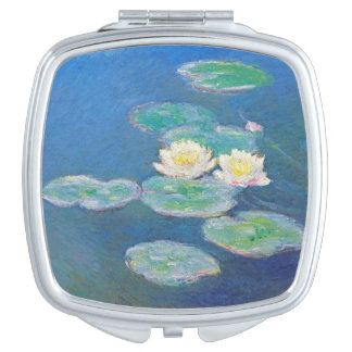 Water Lilies, Evening Effect by Monet Makeup Mirror