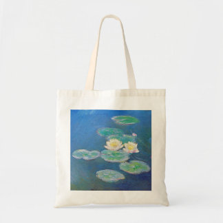 Water Lilies, Evening Effect by Monet Tote Bag