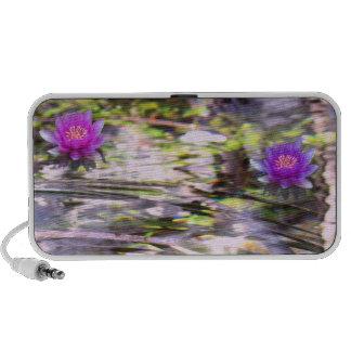 Water Lilies Floating speakers