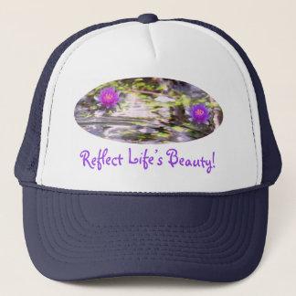 Water Lilies Floating Trucker Hat