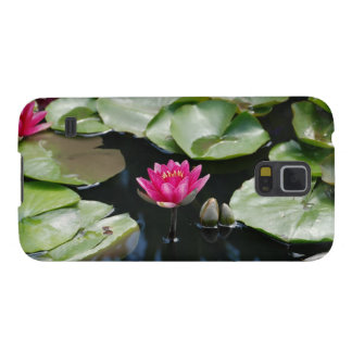 water lilies galaxy s5 cover