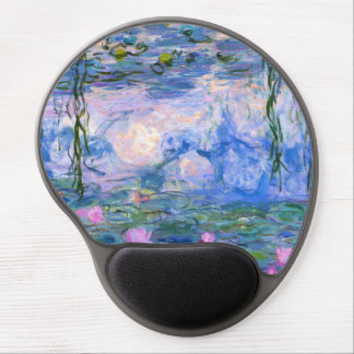 Water Lilies Gel Mouse Pad
