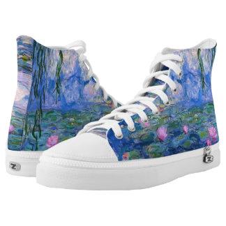 Water Lilies High-Top Sneakers